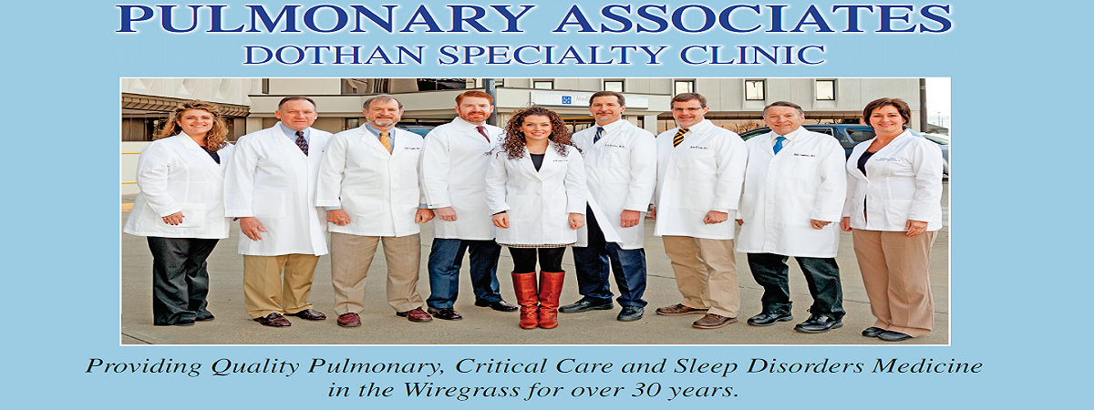Dothan Specialty Clinic - Pulmonary Department